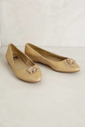 Anthropologie Creature Charm Flats