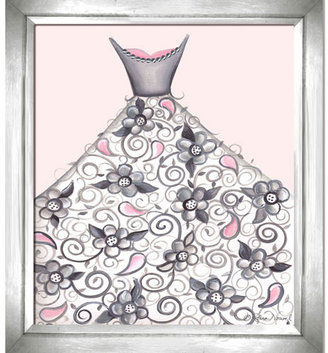 Cherie Blooming Beauty Ball Gown Artwork