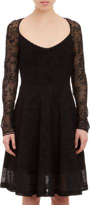 Zac Posen Floral Lace Dress