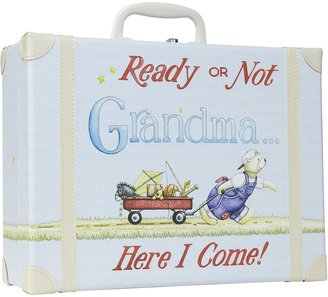 Child to Cherish Going To Grandma's Suitcase - Blue