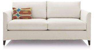 Crate & Barrel Klyne Slipcovered Apartment Sofa