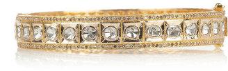 Artisan 18-karat gold diamond bracelet