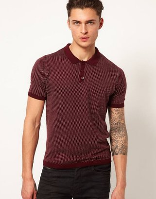 Asos Knitted Polo