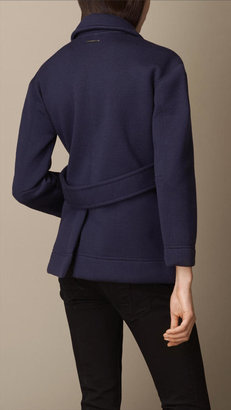 Burberry Bonded Merino Wool Artist Jacket