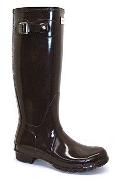Hunter Gloss Brown Boots