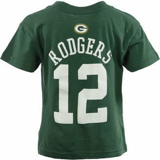 ce606315 Outerstuff Toddler Boys' Aaron Rodgers Green Bay Packers Mainliner Player  T-Shirt