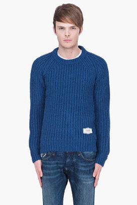 G Star G-STAR blue Collins knit sweater