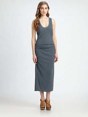 James Perse Stripe Tank Dress