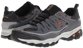 Skechers Afterburn M. Fit (Black) Men's Lace up casual Shoes