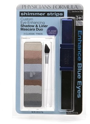 Physicians Formula Classic Collection Shimmer Strips Custom Eye Enhancing Shadow & Liner Mascara Duo Classic Blue Eyes 7292