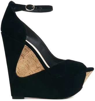 Asos POSE Suede Wedges.