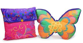 Tinkerbell CLOSEOUT! Disney Surreal Garden Disney Decorative Pillow Pack