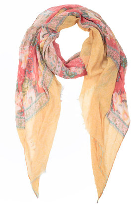 Spun by Subtle Luxury Spun by Subtle Luxury Shabby Scarf Yellow
