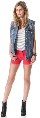 Free People Dolphin Hem Short