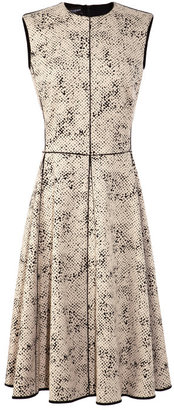 Narciso Rodriguez Cotton-Blend Jacquard A-Line Dress