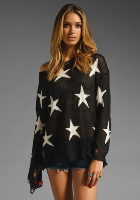 Wildfox Couture Lennon Seeing Stars Sweater