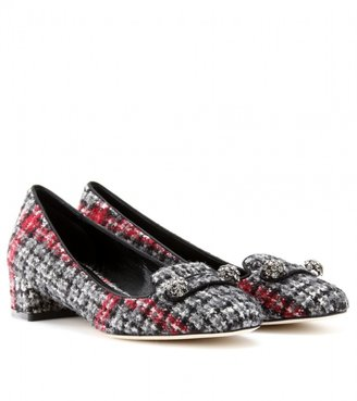 Dolce & Gabbana TWEED PUMPS