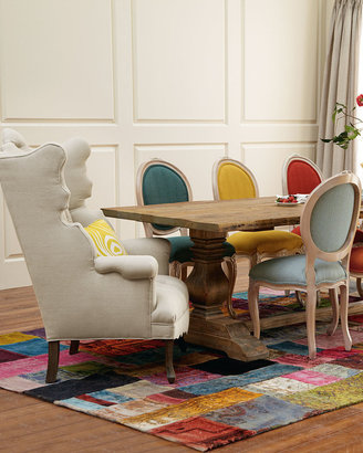 """Haute House Natural Dining Table and """"Elizabeth"""" & """"Melody"""" Chairs"""