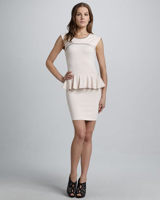 French Connection Valencia Peplum Dress