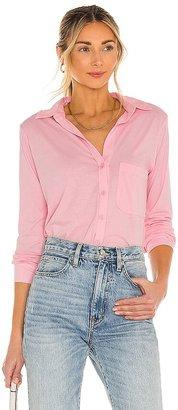 Bobi Light Weight Jersey Button Up