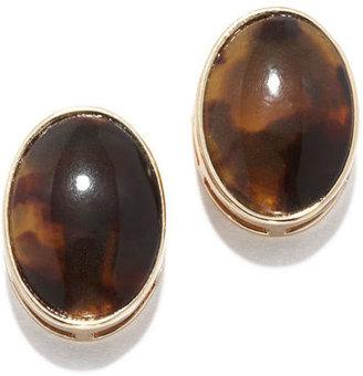 Anne Klein Button Stud Earring