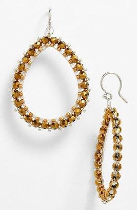 Chan Luu Beaded Teardrop Earrings