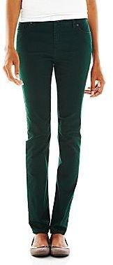 Liz Claiborne 5-Pocket Classic Straight-Leg Jeans