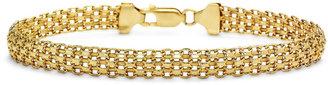 FINE JEWELRY 10K Gold Mesh Bracelet $937.48 thestylecure.com