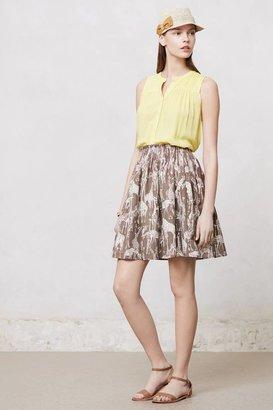 Anthropologie Novelty Mini Skirt