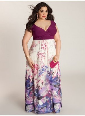 IGIGI Ziva Plus Size Maxi Dress