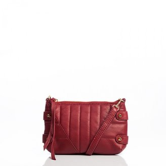 Linea Pelle Alex Quilted Crossbody Clutch