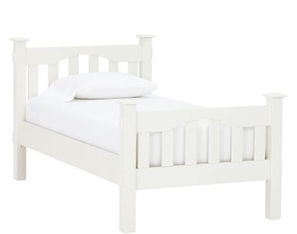 Pottery Barn Kids Kendall Bed, White