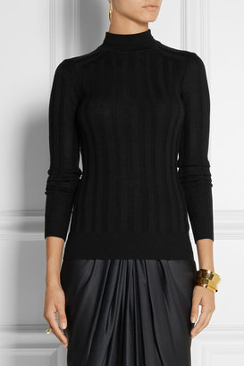 Jason Wu Ribbed wool turtleneck sweater