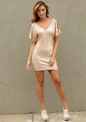 As U Wish Charisse Sequin Dress