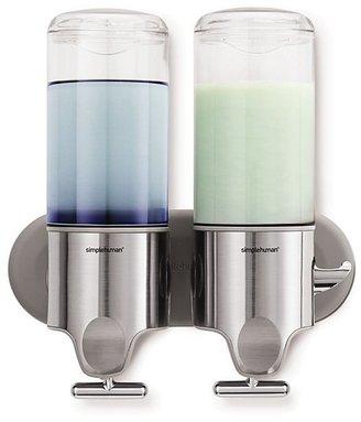 Simplehuman Twin Wall-Mount Pump Dispenser