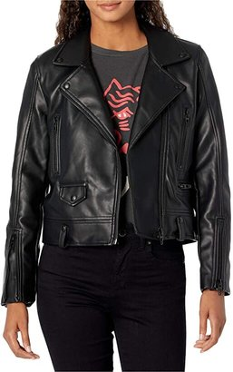 Blank NYC Vegan Leather Moto Jacket (In Demand) Women's Jacket