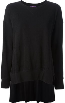 Y's dipped hem sweater