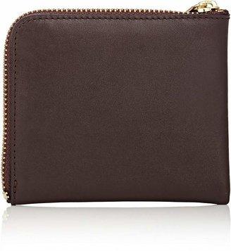 Comme des Garcons Men's Classic Half-Zip Wallet