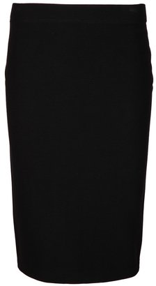 Vince darted back pencil skirt