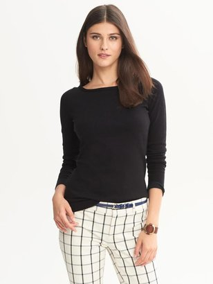 Banana Republic Zip-Back Pullover