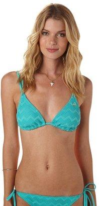 Roxy Making Waves Double Tiki Tri Bikini Top