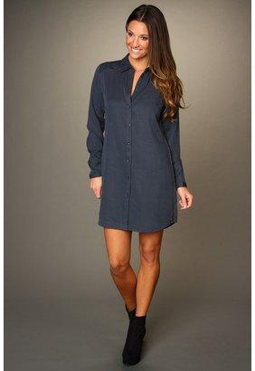 Maison Scotch Blue Shirt Dress (Blue) - Apparel