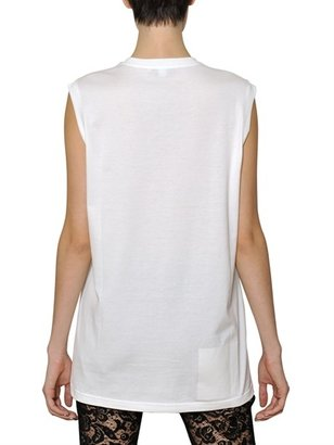 Givenchy Madonna Printed Cotton Jersey Tank Top