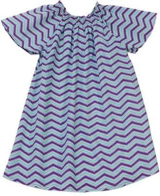 Pink Chicken Willow Zigzag Dress