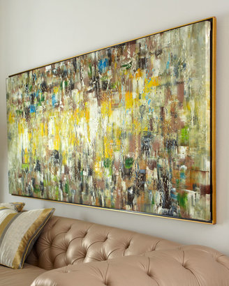 """Horchow """"Slickers"""" Abstract Painting"""