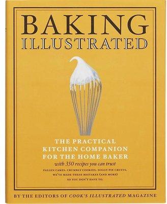 Crate & Barrel Baking Illustrated Cookbook