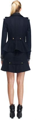 Prabal Gurung Double Breasted Wool-Blend Jacket