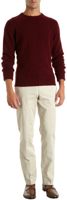 Barneys New York Saddle Shoulder Sweater