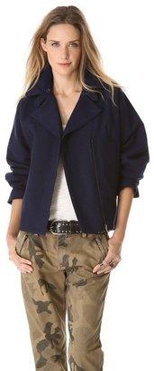 Maison Martin Margiela Boxy Collar Jacket