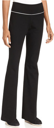Style&Co. Sport Petite Pants, Tummy-Control Pull-On Yoga